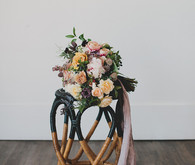 Winter bridal bouquet