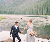 Bohemian elegance wedding inspiration