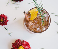 Queen Mary bourbon cocktail recipe with Barçon