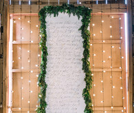 Calligraphy scroll ceremony backdrop