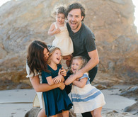 Beach family photos by Nicki Sebastian