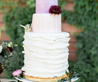 Blush and gold wedding colors
