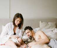Natural light newborn photos in Vancouver