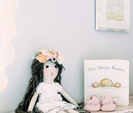 Floral shabby chic vintage nursery