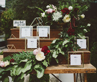 Whimsical Fig House LA wedding