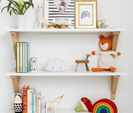 Tiny modern girl's room