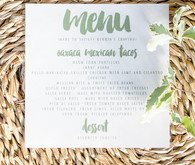 Eucalyptus inspired baby shower
