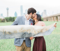 Dallas engagement shoot