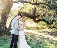 Modern ranch wedding