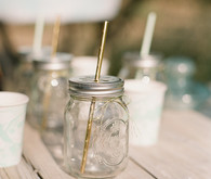 Mason jar cocktail glasses