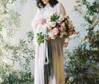Floral maternity photos