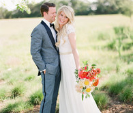 Modern Prospect House wedding