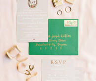 Classic wedding invitation design