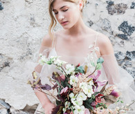 Romantic Greece bridal inspiration