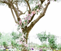 Garden wedding flowers