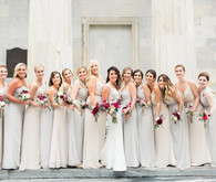 Romantic bridesmaid dresses
