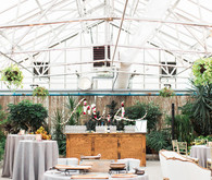 Romantic wedding at a Horticulture Center in Philadelphia