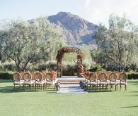 Romantic Arizona wedding at El Chorro