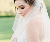 Romantic bridal beauty