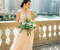 Chicago bridal portrait