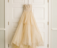 Elegant Marchesa wedding dress