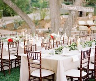 Reception tables
