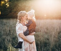 Rustic family maternity photos