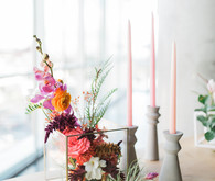 California wedding decor