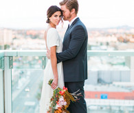 Modern wedding at W Hotel in Hollywood