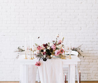 Valentine's Day tablescape