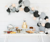 modern girl's birthday party ideas