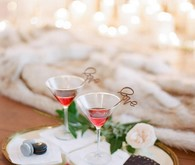 Winter wedding cocktails