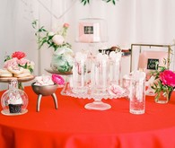 Valentine's Day dessert table inspiration