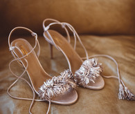 Aquazzura bridal shoes