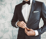 Groom's Suit Supply Suit