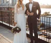Colorful, Moody Brooklyn Wedding