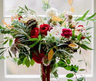 Winter wedding flowers