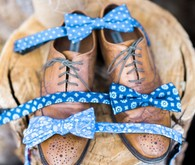 Blue bowties