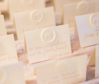 Elegant place cards