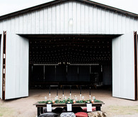 Modern farm wedding inspiration