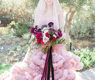 Romantic Valentine's inspired garden wedding inspiration