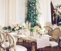 Elegant tablescape