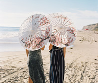 Beach bridesmaids