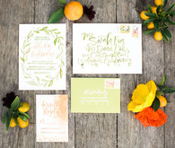 California wedding invitations