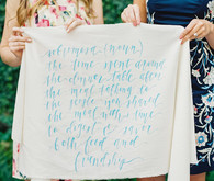 Wedding calligraphy