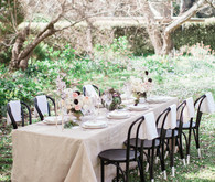 Garden tablescape