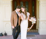 Bride and groom fashion