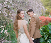 Spring wedding portrait