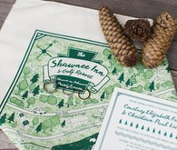 Bohemian summer camp wedding