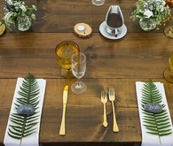 Fern place settings